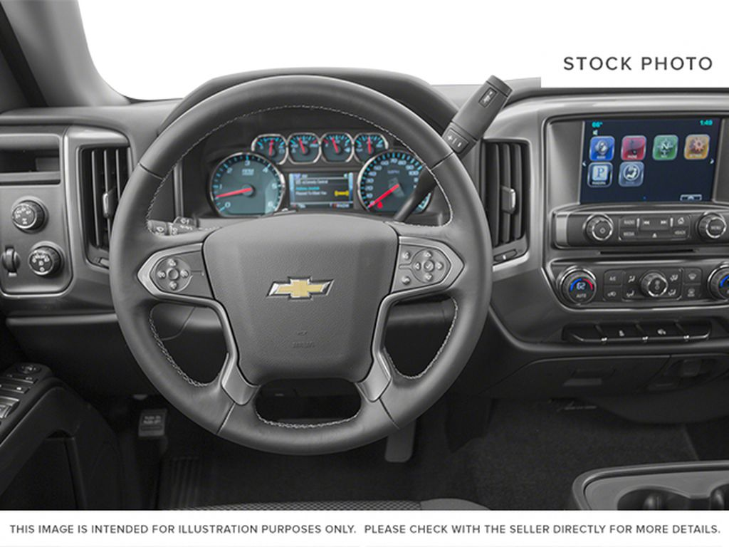 2014 Chevrolet Silverado 1500 Steering Wheel and Dash Photo in Fort Macleod AB