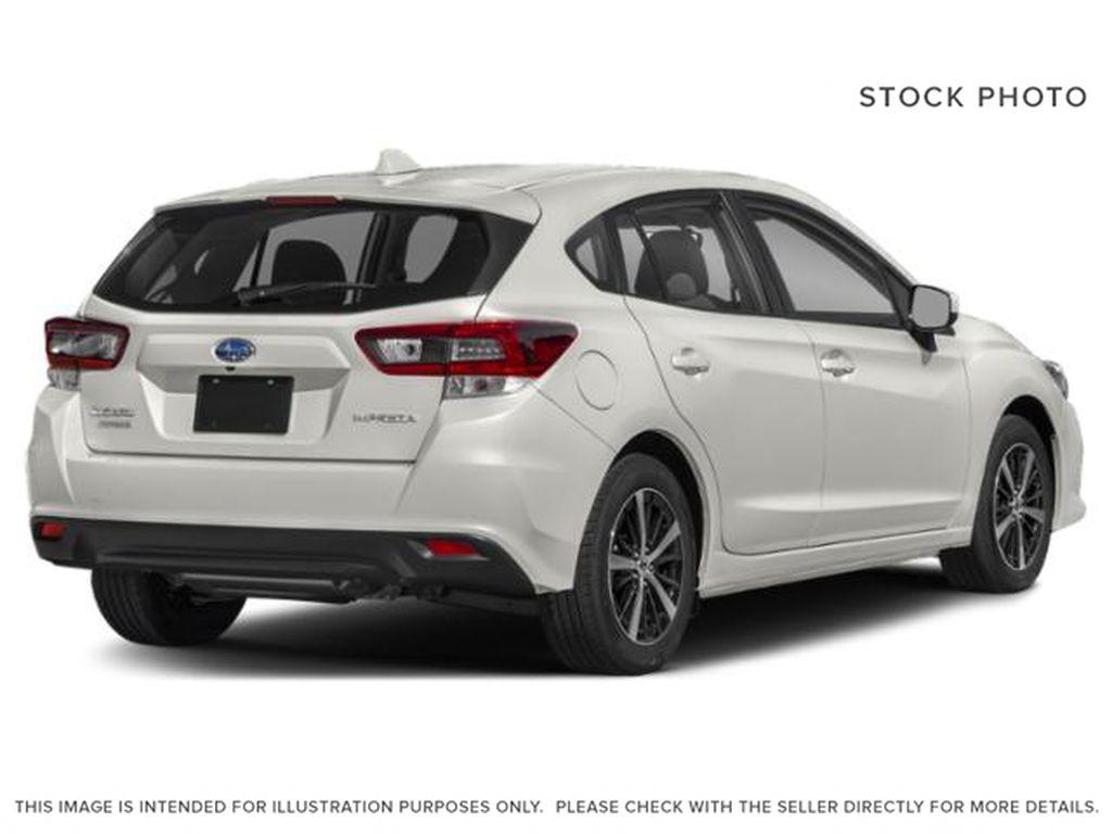 White[Crystal White Pearl] 2022 Subaru Impreza Right Rear Corner Photo in Lethbridge AB