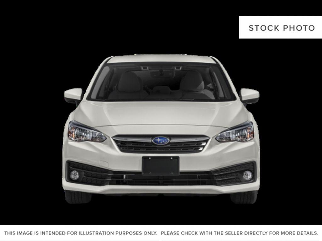 White[Crystal White Pearl] 2022 Subaru Impreza Front Vehicle Photo in Lethbridge AB