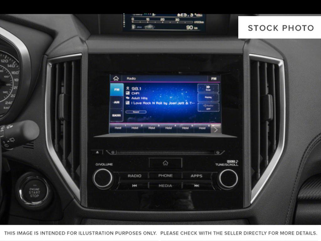 White[Crystal White Pearl] 2022 Subaru Impreza Radio Controls Closeup Photo in Lethbridge AB