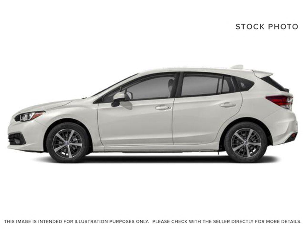 White[Crystal White Pearl] 2022 Subaru Impreza Left Side Photo in Lethbridge AB
