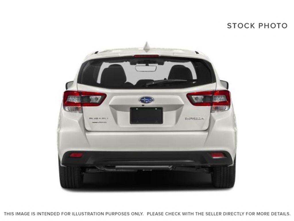 White[Crystal White Pearl] 2022 Subaru Impreza Rear of Vehicle Photo in Lethbridge AB