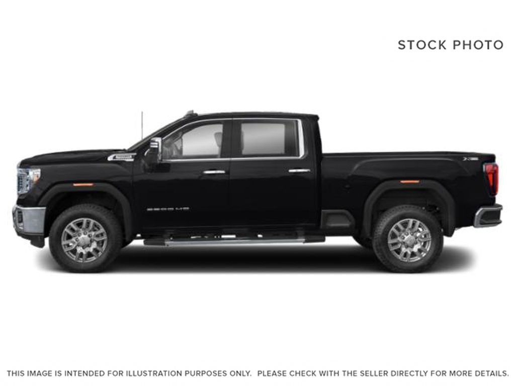 Black[Ebony Twilight Metallic] 2022 GMC Sierra 3500HD Left Side Photo in Edmonton AB