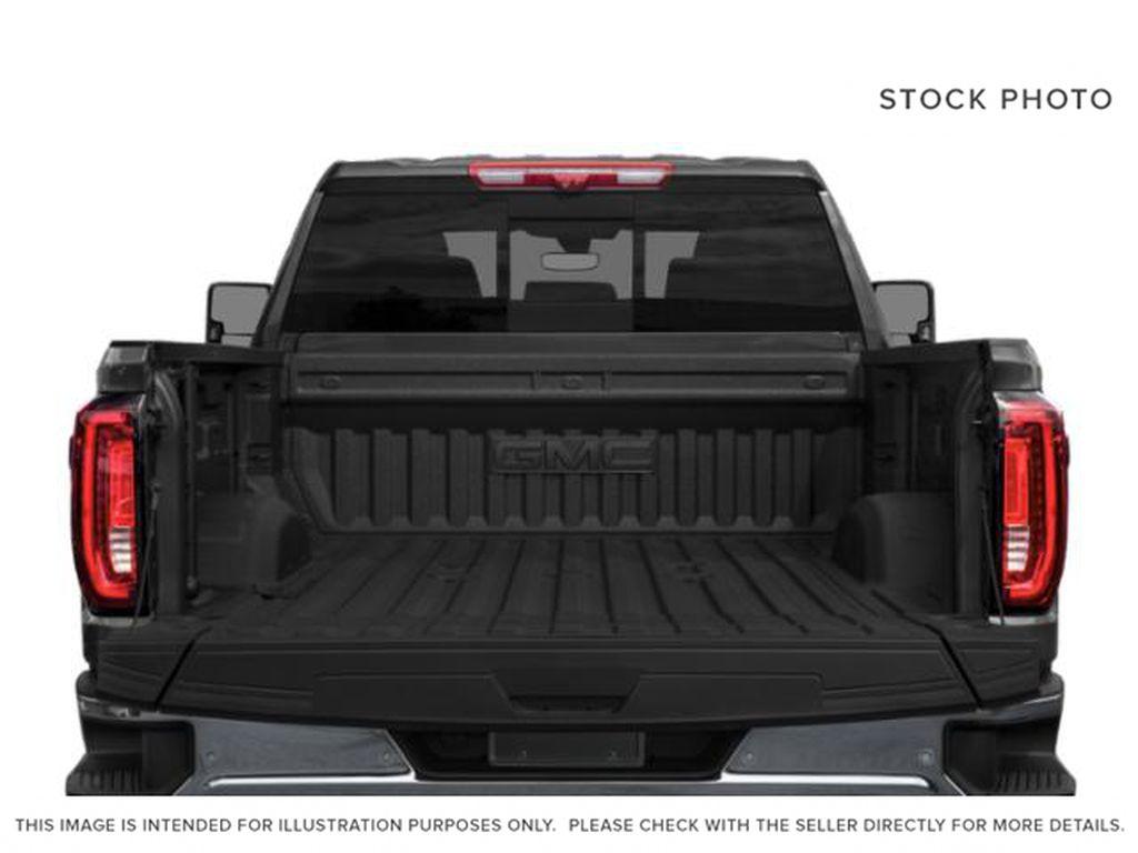 Black[Ebony Twilight Metallic] 2022 GMC Sierra 3500HD Trunk / Cargo Area Photo in Edmonton AB