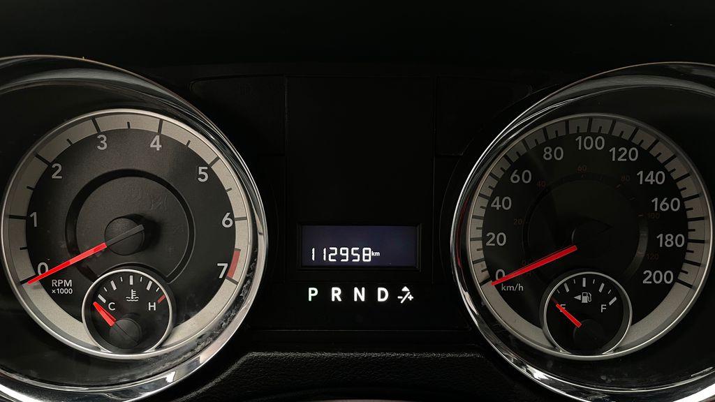 Black[Brilliant Black Crystal Pearlcoat] 2014 Dodge Grand Caravan SE - 7 Passenger, Roof Rails, LOW KMs Odometer Photo in Winnipeg MB