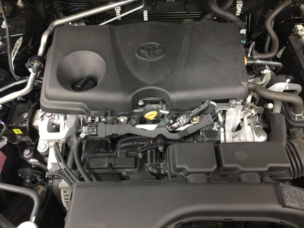 BLACK 2020 Toyota RAV4 TRAIL AWD Engine Compartment Photo in Sherwood Park AB