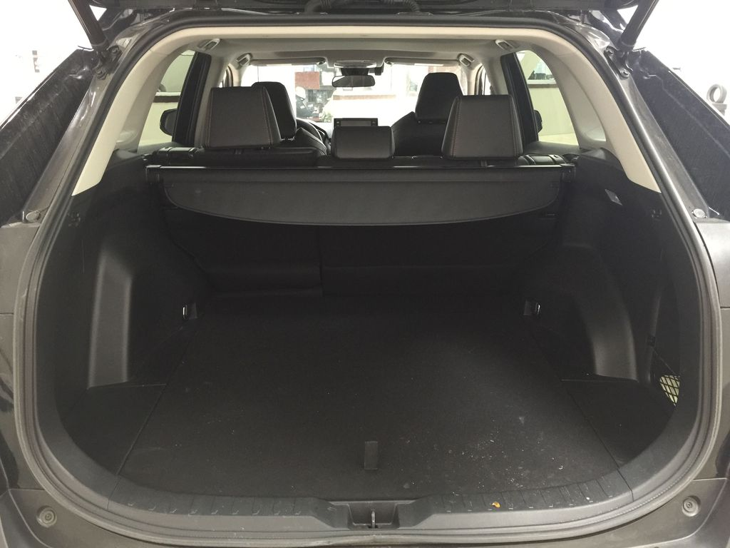 BLACK 2020 Toyota RAV4 TRAIL AWD Cargo Area/Rear Seats Photo in Sherwood Park AB