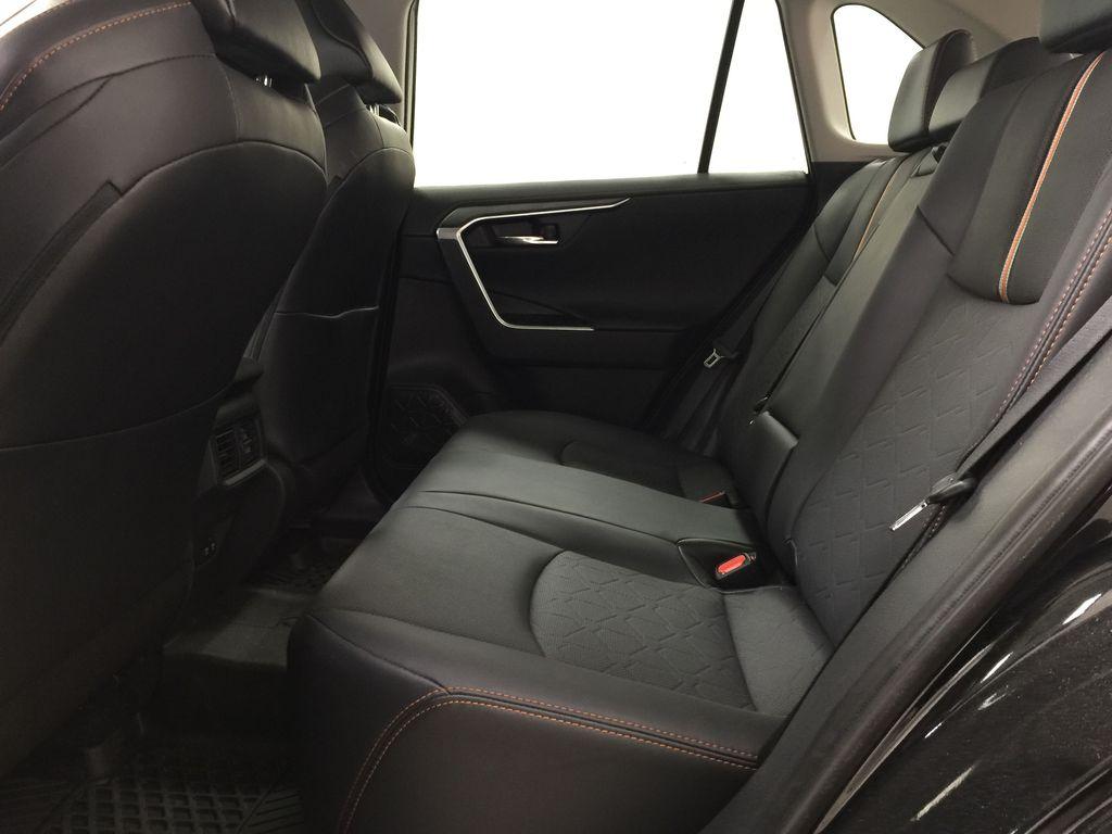 BLACK 2020 Toyota RAV4 TRAIL AWD Left Side Rear Seat  Photo in Sherwood Park AB