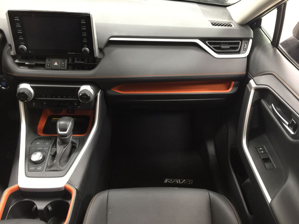 BLACK 2020 Toyota RAV4 TRAIL AWD Right Front Seat Photo in Sherwood Park AB