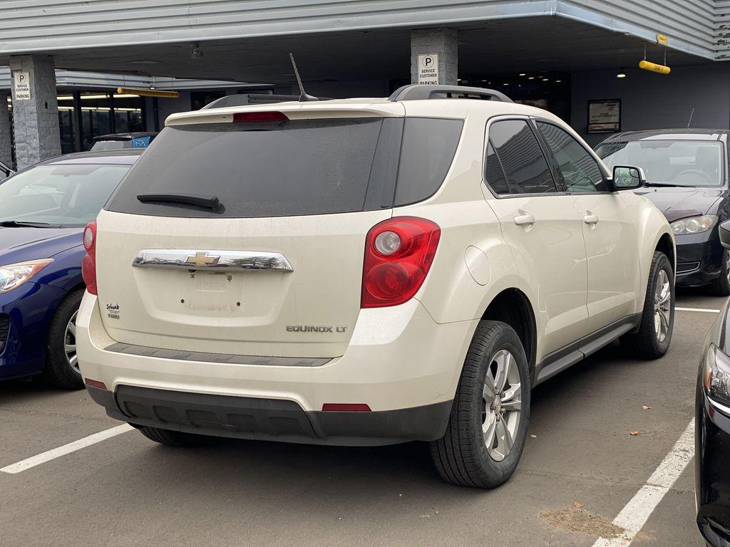 WHITE 2014 Chevrolet Equinox LT Left Front Interior Photo in Edmonton AB