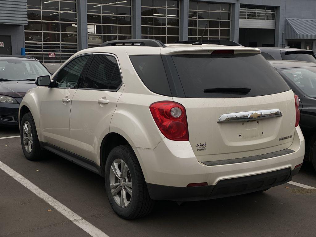 WHITE 2014 Chevrolet Equinox LT  Driver's Side Door Controls Photo in Edmonton AB