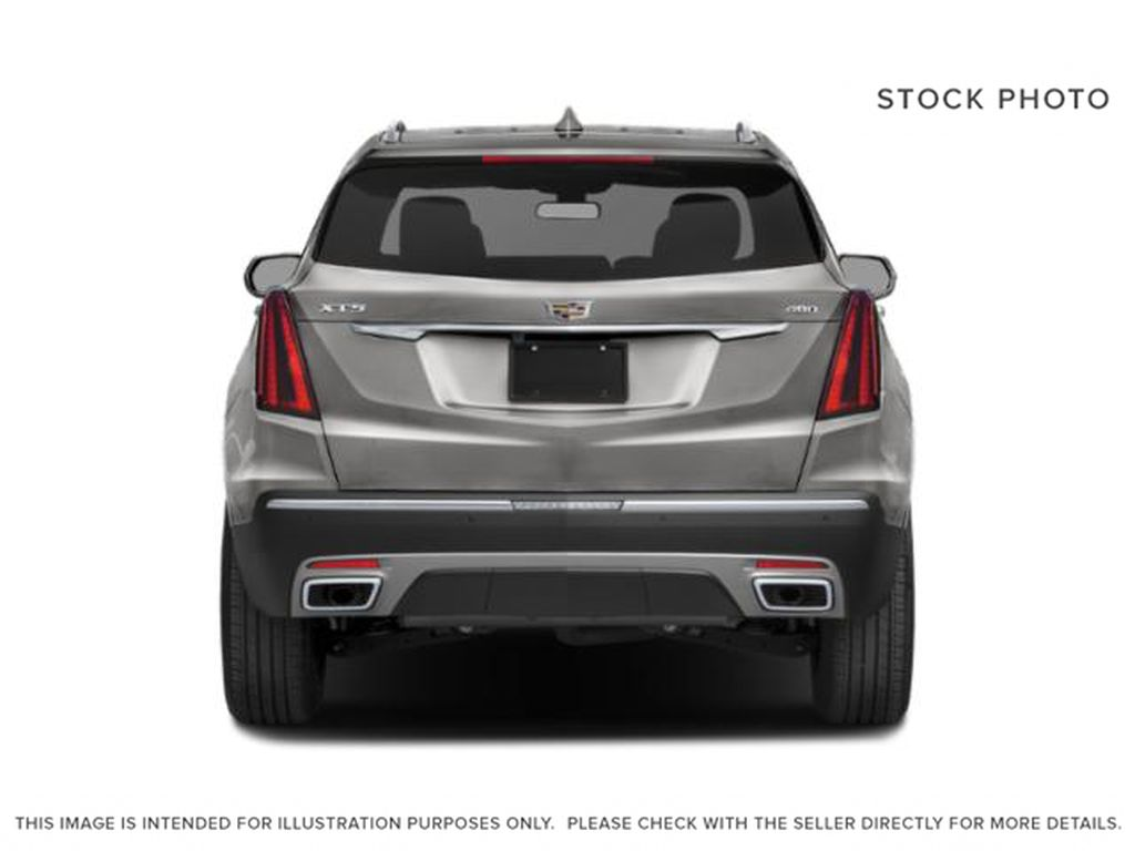 White[Crystal White Tricoat] 2022 Cadillac XT5 Premium Luxury Rear of Vehicle Photo in Calgary AB