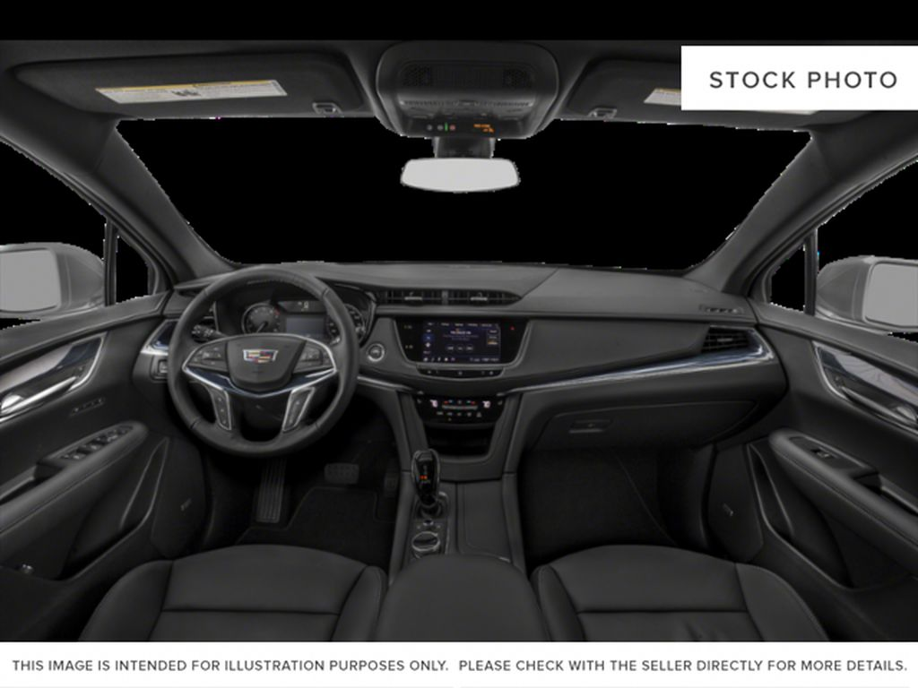 White[Crystal White Tricoat] 2022 Cadillac XT5 Premium Luxury Central Dash Options Photo in Calgary AB
