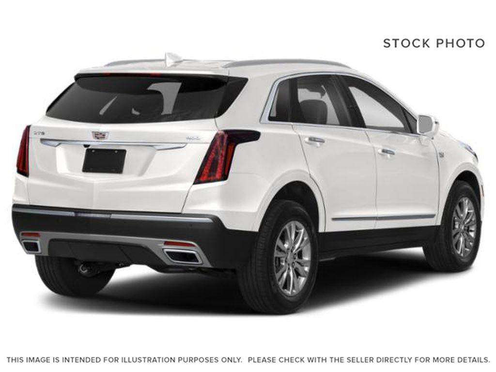 White[Crystal White Tricoat] 2022 Cadillac XT5 Premium Luxury Right Rear Corner Photo in Calgary AB