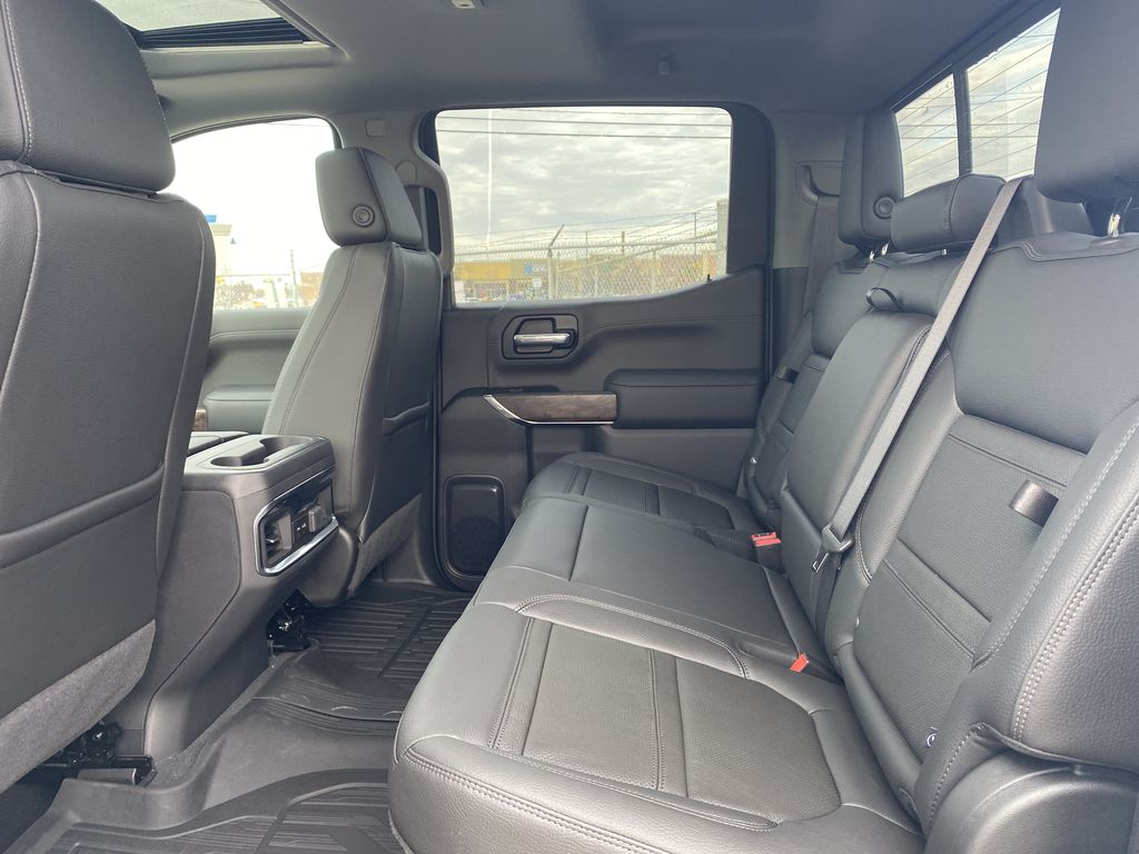 White[White Frost Tricoat] 2021 GMC Sierra 1500 Left Side Rear Seat  Photo in Edmonton AB