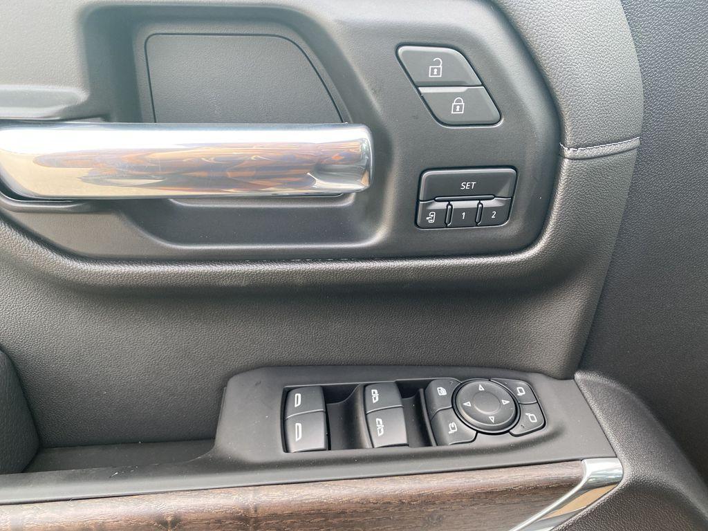 White[White Frost Tricoat] 2021 GMC Sierra 1500  Driver's Side Door Controls Photo in Edmonton AB