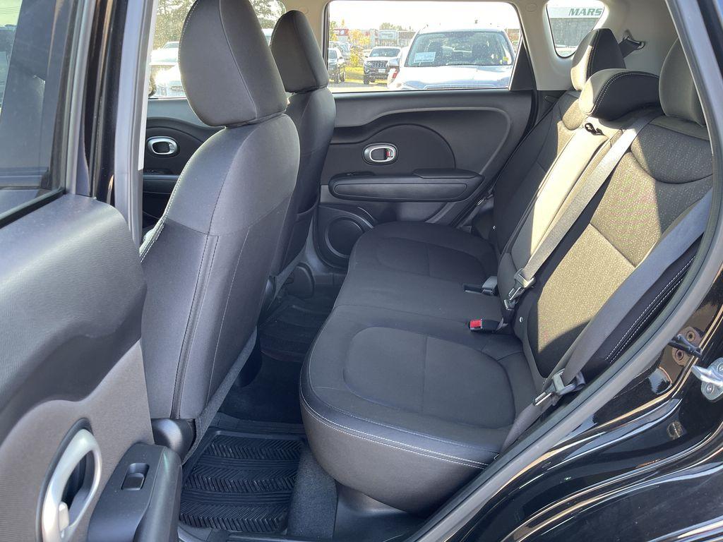 Black[Onyx Pearl] 2016 Kia Soul 5dr Wgn Manual LX *Heated Seats* *Bluetooth* *Cruise* Left Side Rear Seat  Photo in Brandon MB