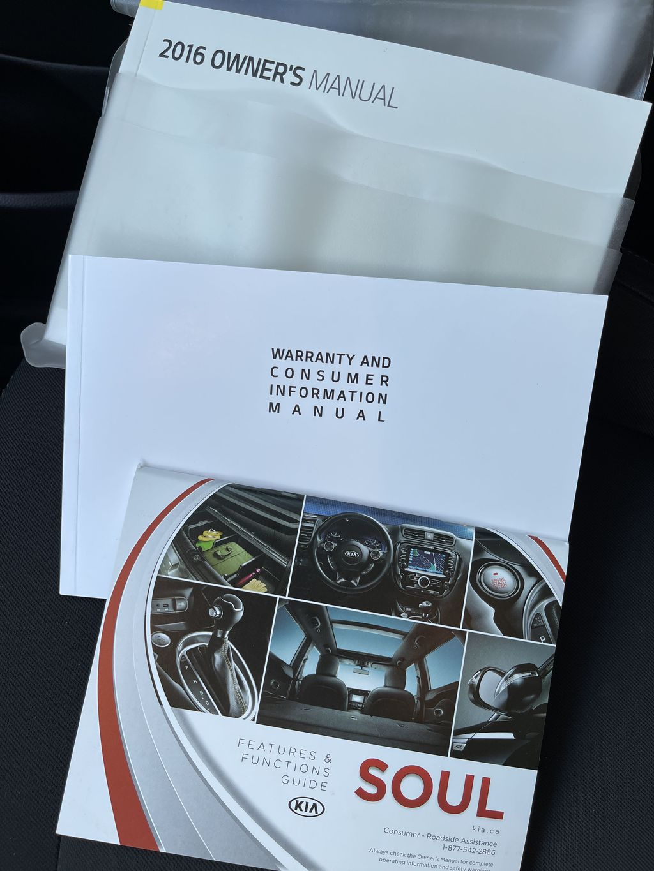 Black[Onyx Pearl] 2016 Kia Soul 5dr Wgn Manual LX *Heated Seats* *Bluetooth* *Cruise* DOT photo in Brandon MB