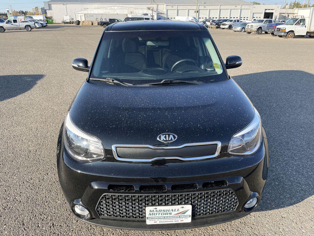 Black[Onyx Pearl] 2016 Kia Soul 5dr Wgn Manual LX *Heated Seats* *Bluetooth* *Cruise* Front Vehicle Photo in Brandon MB