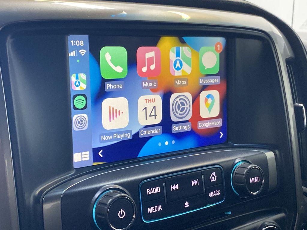 WHITE 2017 Chevrolet Silverado 1500 LTZ - Navigation, Apple CarPlay, Backup Camera Apple Carplay/Android Auto Photo in Edmonton AB