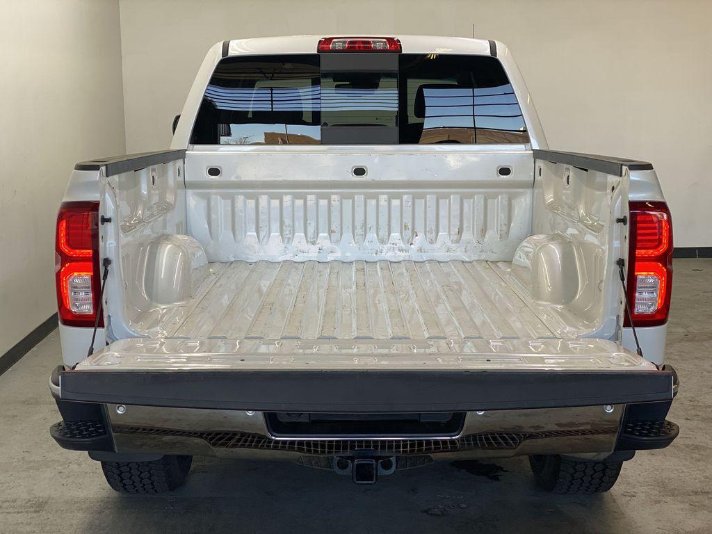 WHITE 2017 Chevrolet Silverado 1500 LTZ - Navigation, Apple CarPlay, Backup Camera Trunk / Cargo Area Photo in Edmonton AB