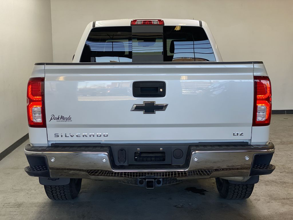 WHITE 2017 Chevrolet Silverado 1500 LTZ - Navigation, Apple CarPlay, Backup Camera Rear of Vehicle Photo in Edmonton AB