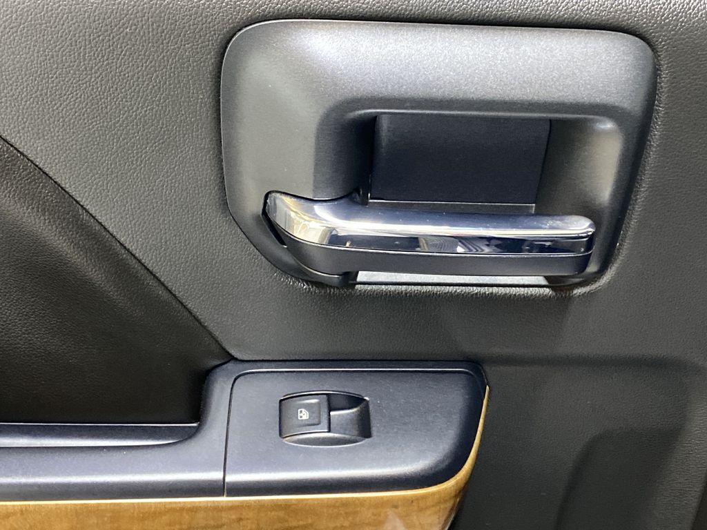 WHITE 2017 Chevrolet Silverado 1500 LTZ - Navigation, Apple CarPlay, Backup Camera LR Door Panel Ctls Photo in Edmonton AB