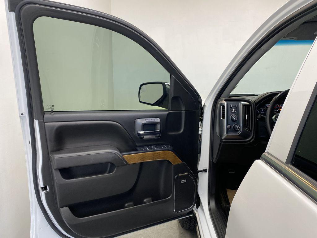 WHITE 2017 Chevrolet Silverado 1500 LTZ - Navigation, Apple CarPlay, Backup Camera Left Front Interior Door Panel Photo in Edmonton AB