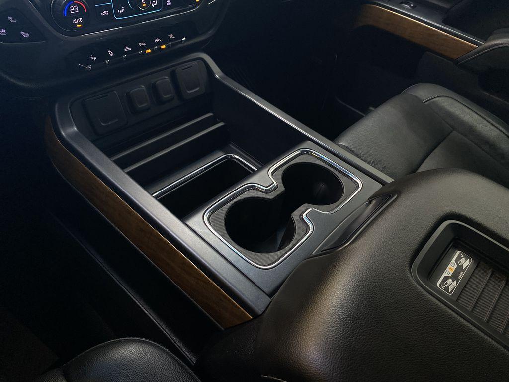 WHITE 2017 Chevrolet Silverado 1500 LTZ - Navigation, Apple CarPlay, Backup Camera Center Console Photo in Edmonton AB