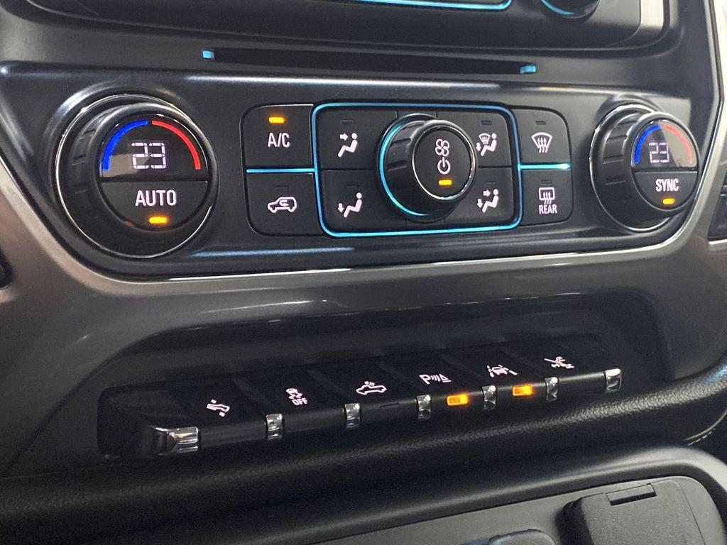 WHITE 2017 Chevrolet Silverado 1500 LTZ - Navigation, Apple CarPlay, Backup Camera Central Dash Options Photo in Edmonton AB