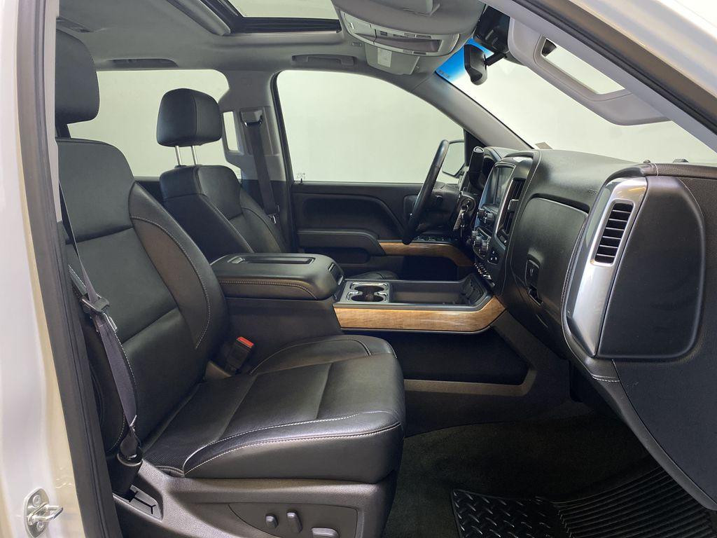 WHITE 2017 Chevrolet Silverado 1500 LTZ - Navigation, Apple CarPlay, Backup Camera Right Side Front Seat  Photo in Edmonton AB