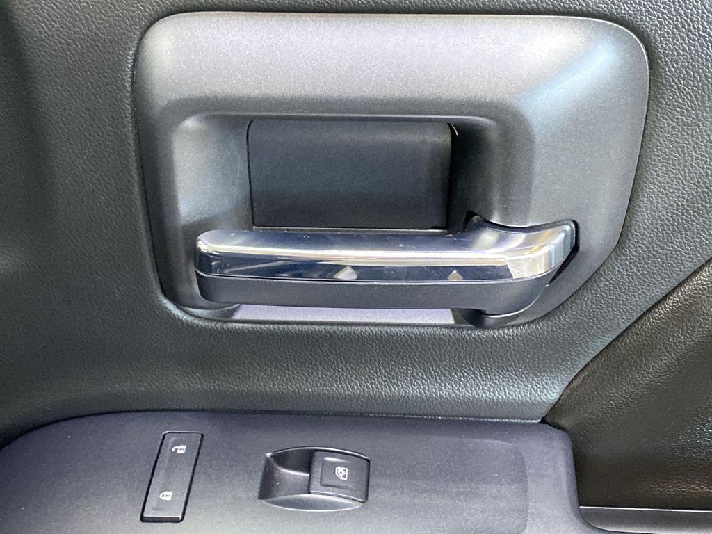 WHITE 2017 Chevrolet Silverado 1500 LTZ - Navigation, Apple CarPlay, Backup Camera Passenger Front Door Controls Photo in Edmonton AB