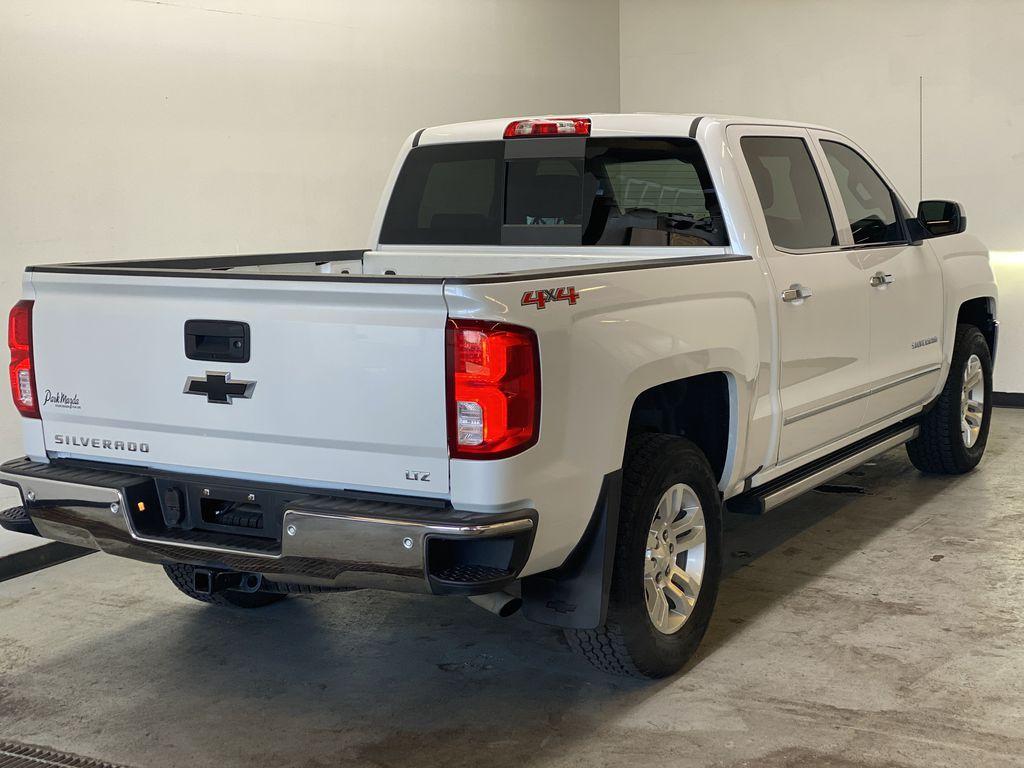 WHITE 2017 Chevrolet Silverado 1500 LTZ - Navigation, Apple CarPlay, Backup Camera Right Rear Corner Photo in Edmonton AB