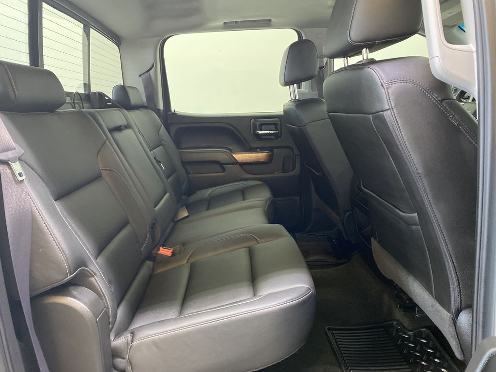 WHITE 2017 Chevrolet Silverado 1500 LTZ - Navigation, Apple CarPlay, Backup Camera Right Side Rear Seat  Photo in Edmonton AB