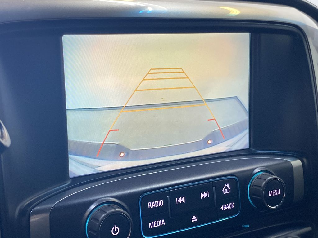 WHITE 2017 Chevrolet Silverado 1500 LTZ - Navigation, Apple CarPlay, Backup Camera Backup Camera Closeup Photo in Edmonton AB