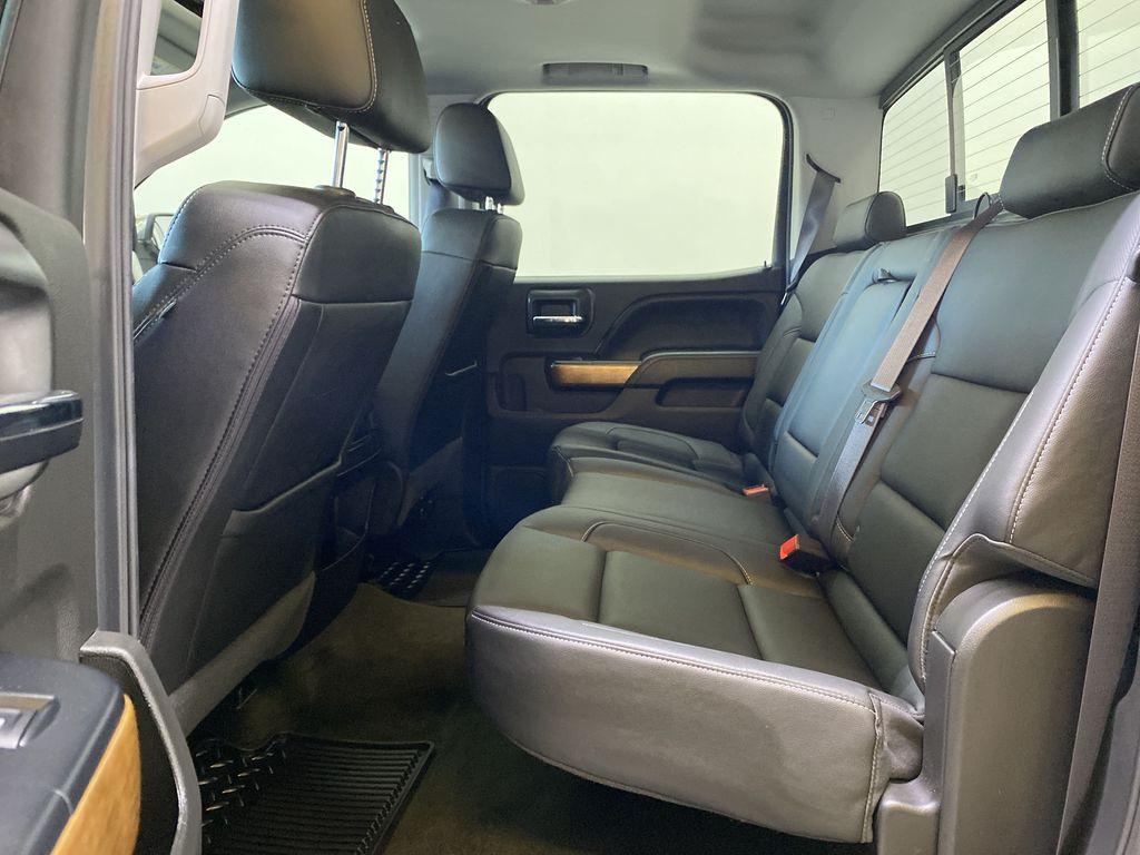 WHITE 2017 Chevrolet Silverado 1500 LTZ - Navigation, Apple CarPlay, Backup Camera Left Side Rear Seat  Photo in Edmonton AB