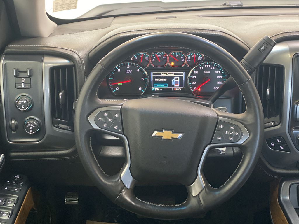 WHITE 2017 Chevrolet Silverado 1500 LTZ - Navigation, Apple CarPlay, Backup Camera Strng Wheel: Frm Rear in Edmonton AB