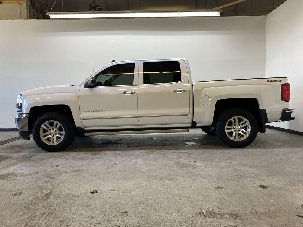 WHITE 2017 Chevrolet Silverado 1500 LTZ - Navigation, Apple CarPlay, Backup Camera Left Side Photo in Edmonton AB