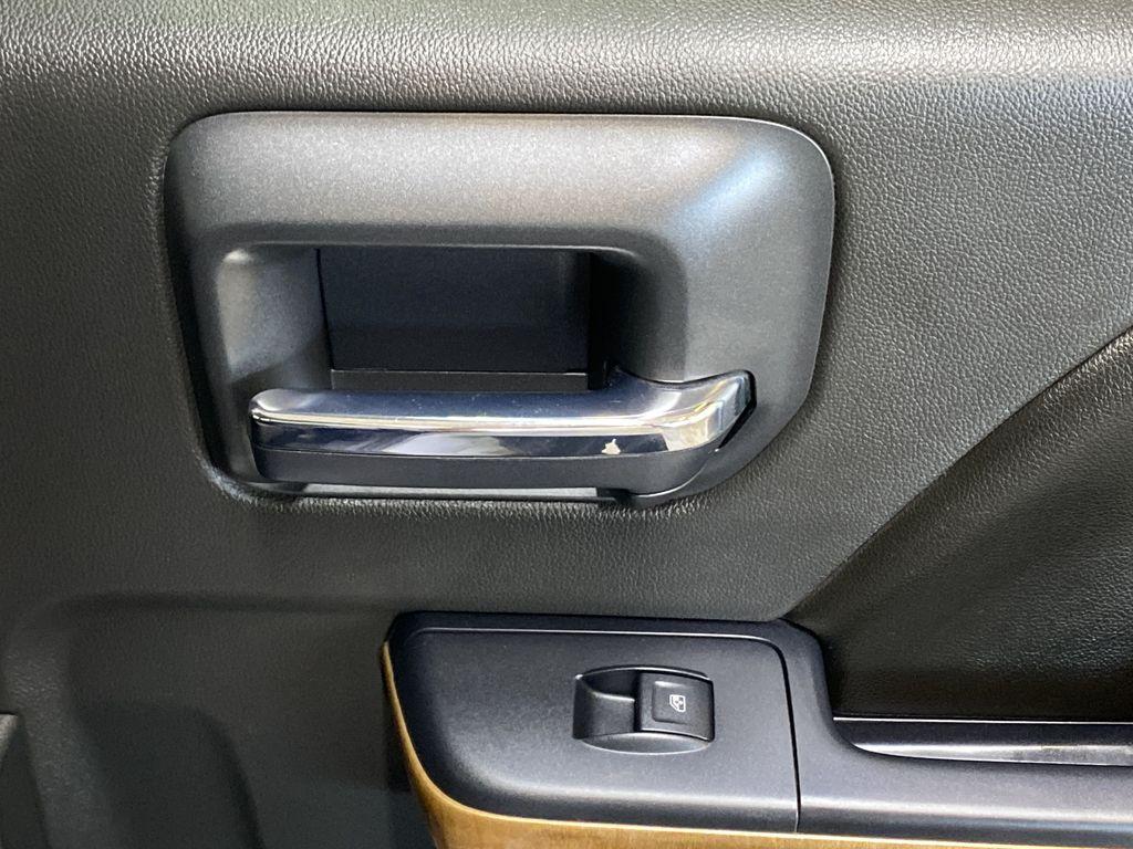 WHITE 2017 Chevrolet Silverado 1500 LTZ - Navigation, Apple CarPlay, Backup Camera Passenger Rear Door Controls Photo in Edmonton AB