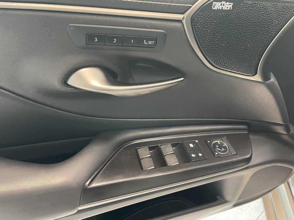 Silver 2019 Lexus ES ES 350 PREMIUM Fourth Row  Seat  Photo in Edmonton AB