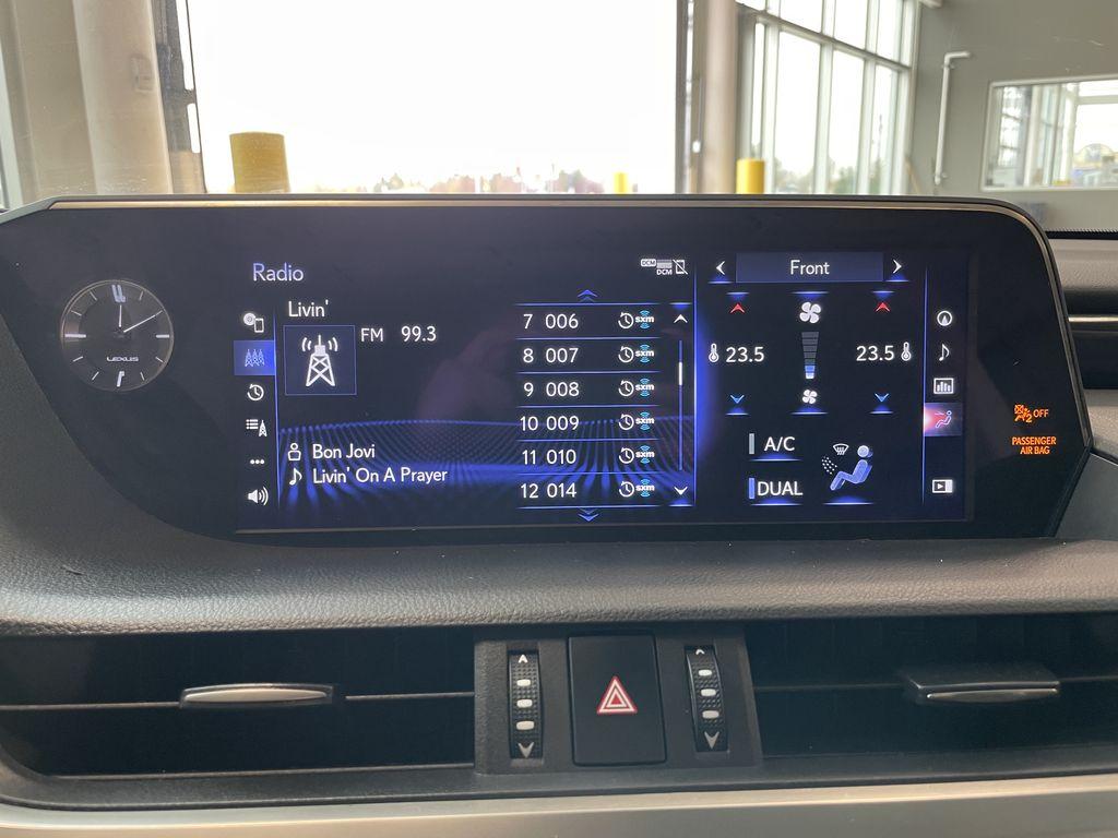 Silver 2019 Lexus ES ES 350 PREMIUM Front Vehicle Photo in Edmonton AB
