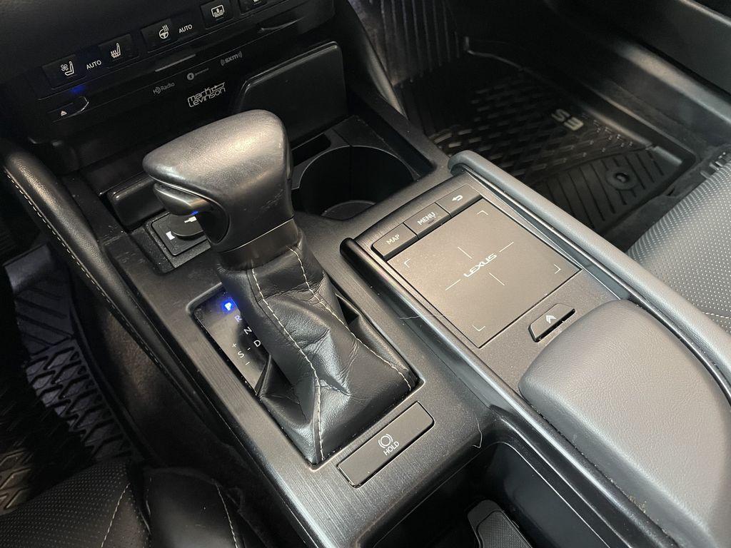 Silver 2019 Lexus ES ES 350 PREMIUM Central Dash Options Photo in Edmonton AB