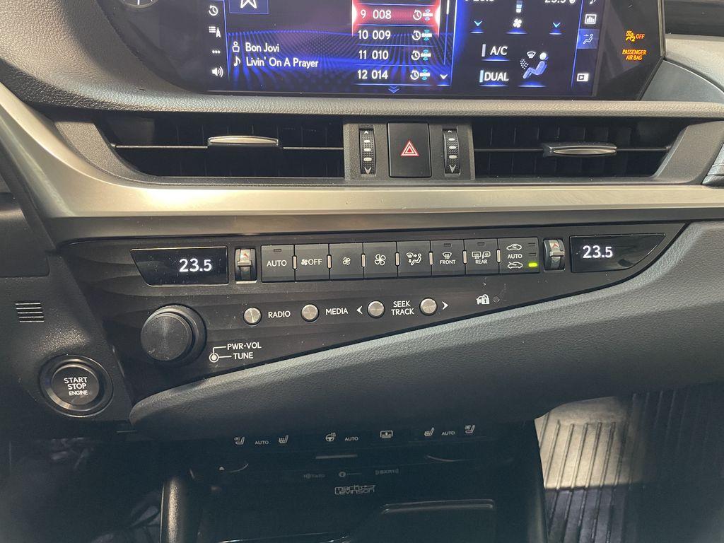 Silver 2019 Lexus ES ES 350 PREMIUM Engine Compartment Photo in Edmonton AB