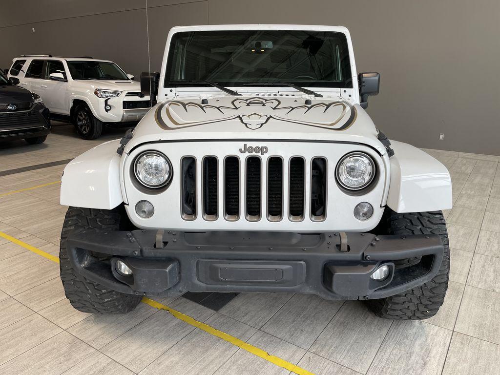 White 2018 Jeep Wrangler JK Golden Eagle Odometer Photo in Edmonton AB