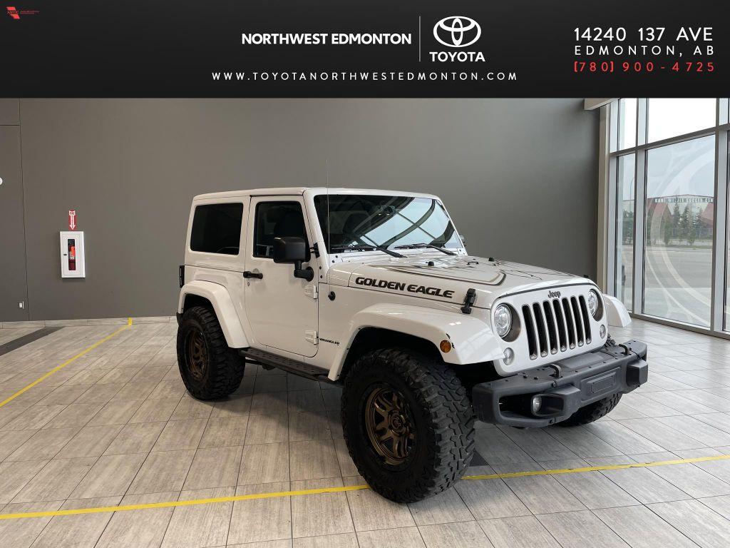 White 2018 Jeep Wrangler JK Golden Eagle