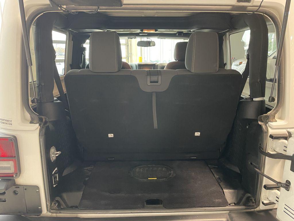 White 2018 Jeep Wrangler JK Golden Eagle Central Dash Options Photo in Edmonton AB
