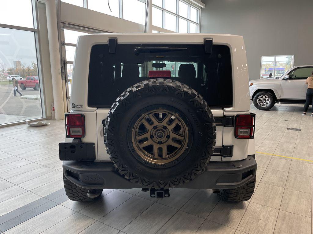 White 2018 Jeep Wrangler JK Golden Eagle Trunk / Cargo Area Photo in Edmonton AB