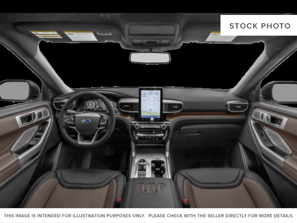 Green[Forged Green Metallic] 2022 Ford Explorer Central Dash Options Photo in Dartmouth NS