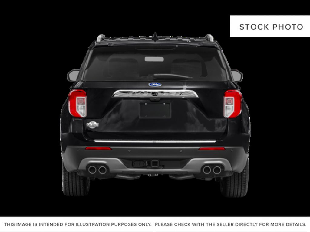 Green[Forged Green Metallic] 2022 Ford Explorer Rear of Vehicle Photo in Dartmouth NS