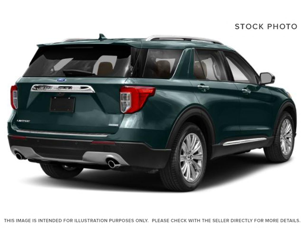 Green[Forged Green Metallic] 2022 Ford Explorer Right Rear Corner Photo in Dartmouth NS